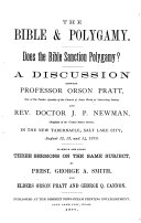 a discussion on polygamy